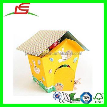 N669 easter egg house shape paper gift box for kids buy house n669 easter egg house shape paper gift box for kids negle Images