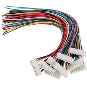 24AWG 26AWG 10Pin JST 1.25mm 2.0mm 2.54mm Pitch Connector Wire Harness Cable Assembly