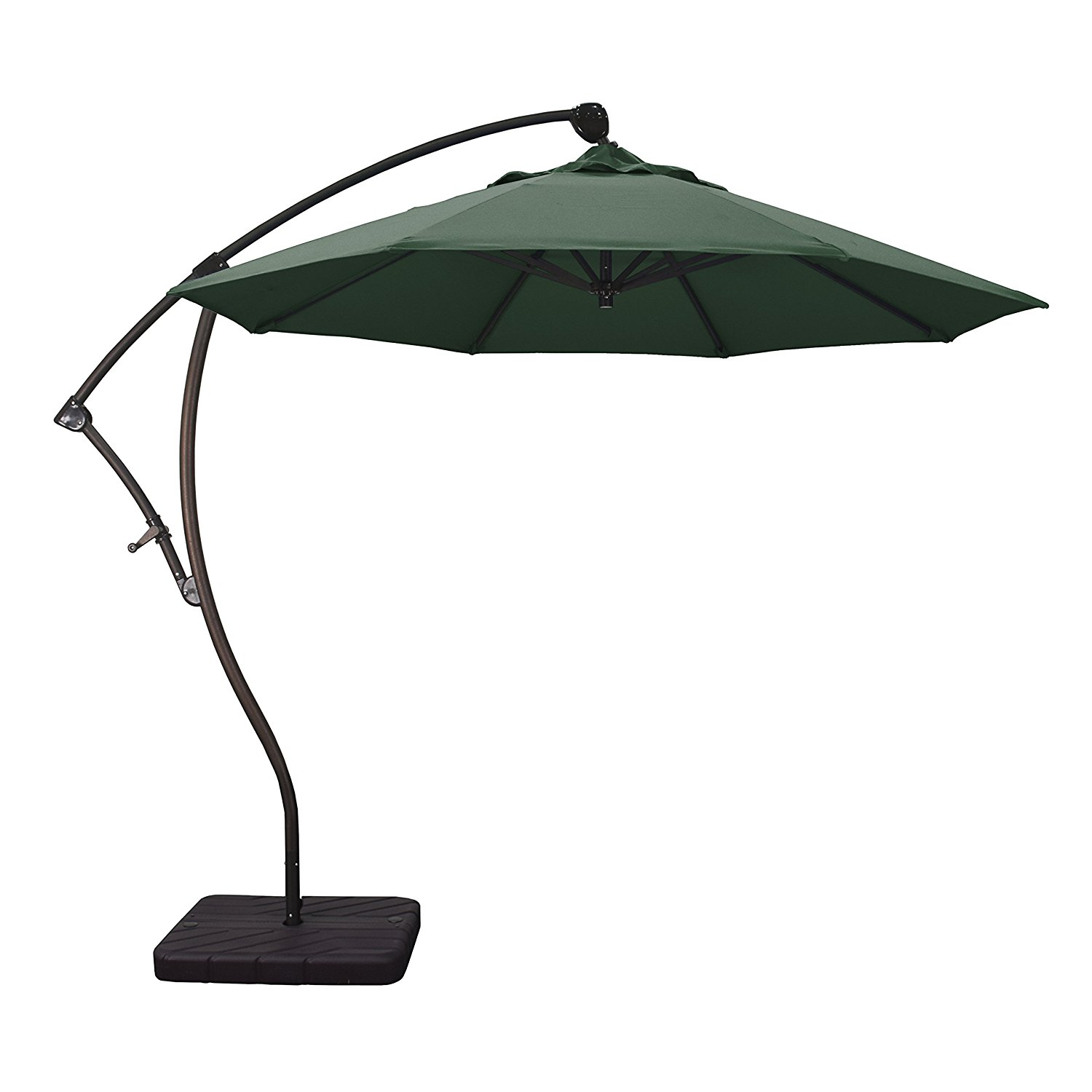 Get Quotations Phat Tommy 9 Ft Cantilever Offset Aluminum Market Patio Umbrella With Tilt For Shade