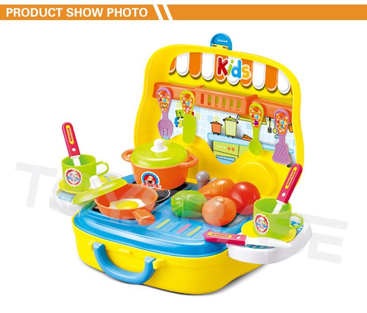 2018 Neue Mode Spielzeug Küche Set Mini Spielzeug Koffer Für Kinder ...