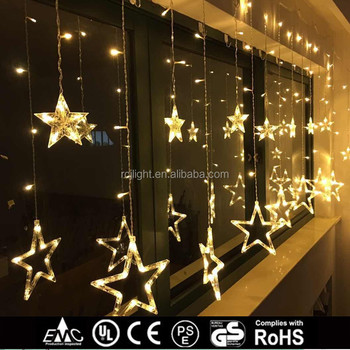 Aa Battery Operated Curtain Light Le Star Decoration Lights Indoor Use
