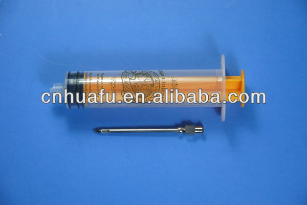 reusable outdoor cooker flavor injector, meat marinade injector