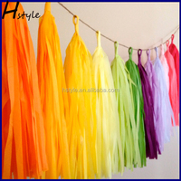 Paper Tassel Garland For Kids Girls Birthday Baby Shower Party Decorations SD004