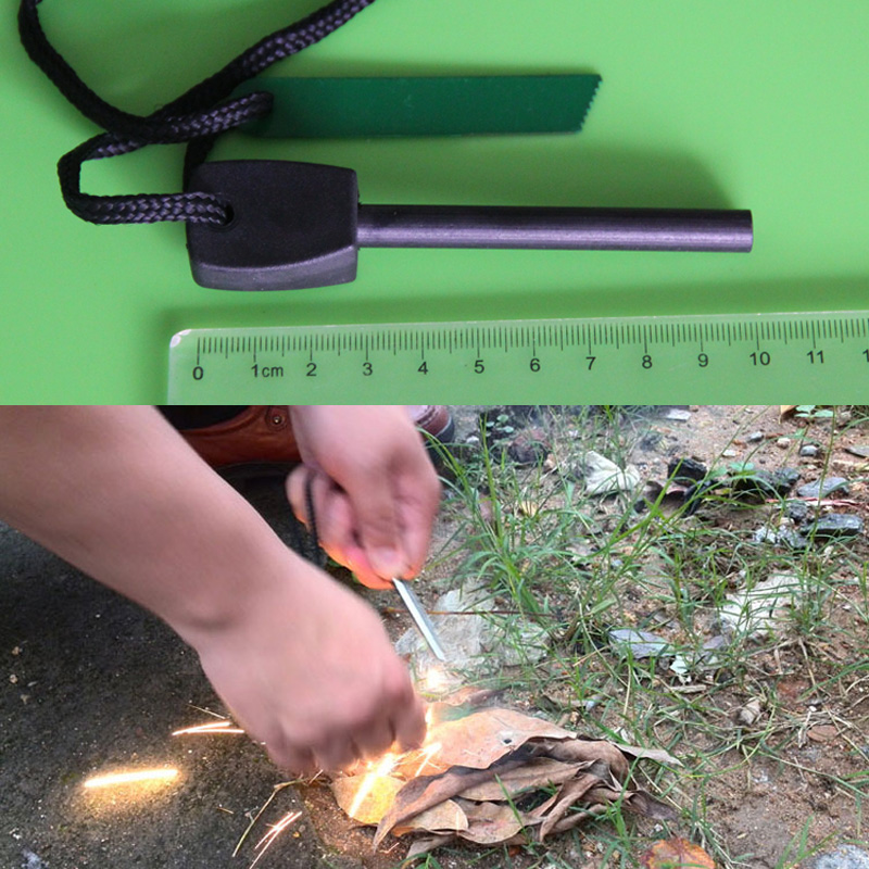 Big Outdoor Survival Magnesium Flint Stone Fire Starter