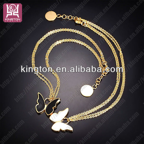 enamel butterfly 18k gold bridal necklace alibaba in italy