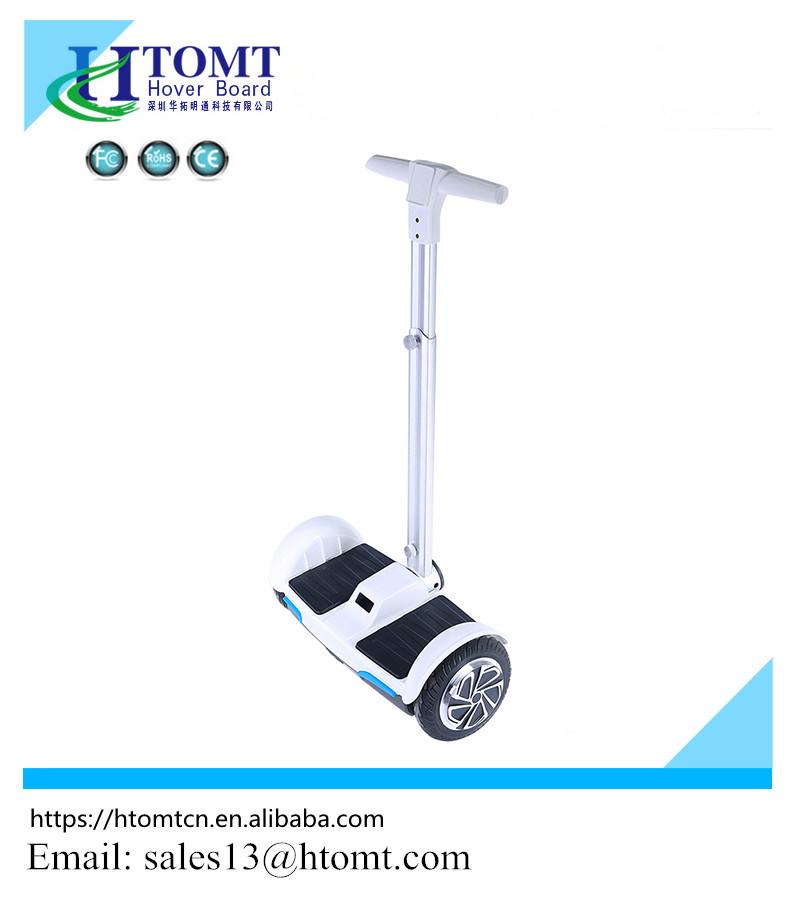2017 new singapore 8 inch 2 wheel stand updual motor fat tire electric scooter