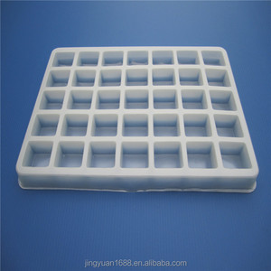Plastic nursery seeding tray blister