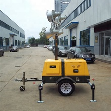 China supply pneumatic lifting ประเภทรถพ่วงไฟ led <span class=keywords><strong>tower</strong></span> (SZM-1000B)