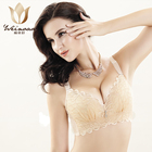 Latest Design Luxury Transparent Women Sexy Bra Set Wholesale