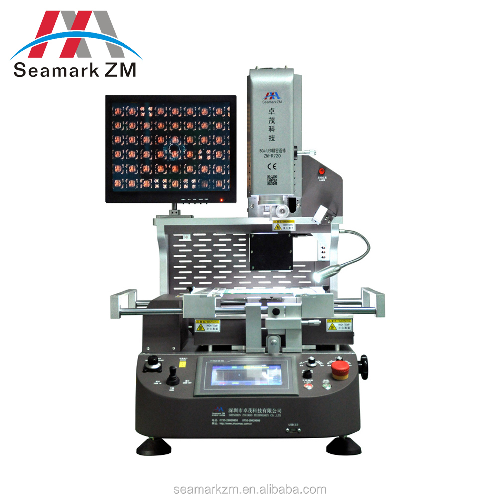 2017 china supplier free face to face training bga rework station for laptop motherboard at cheap factory price zm-r720
