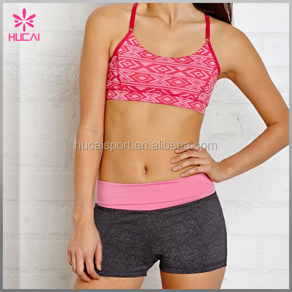 Custom Sports Fitness Wear Dry Fit Wholesale Exercise Clothing For Women