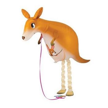 birthday party girl birthday party animal balloon kangaroo walking