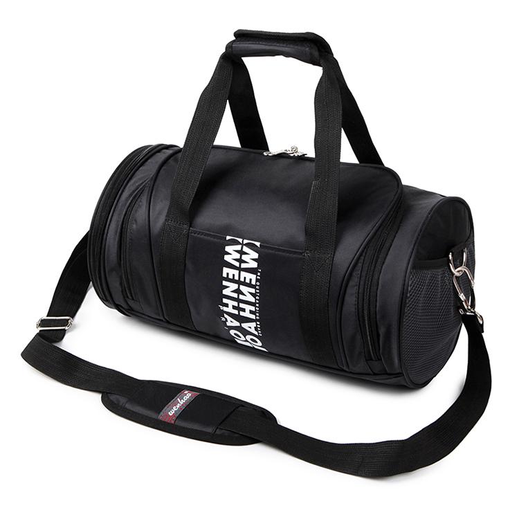 Imperméable à l'eau grand pliable sport voyage sac polochon avec compartiment à chaussures