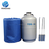 transportable lab biological liquid nitrogen dewar / liquid nitrogen cryogenic tank