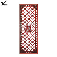 customized hand-painted wooden screen room divider