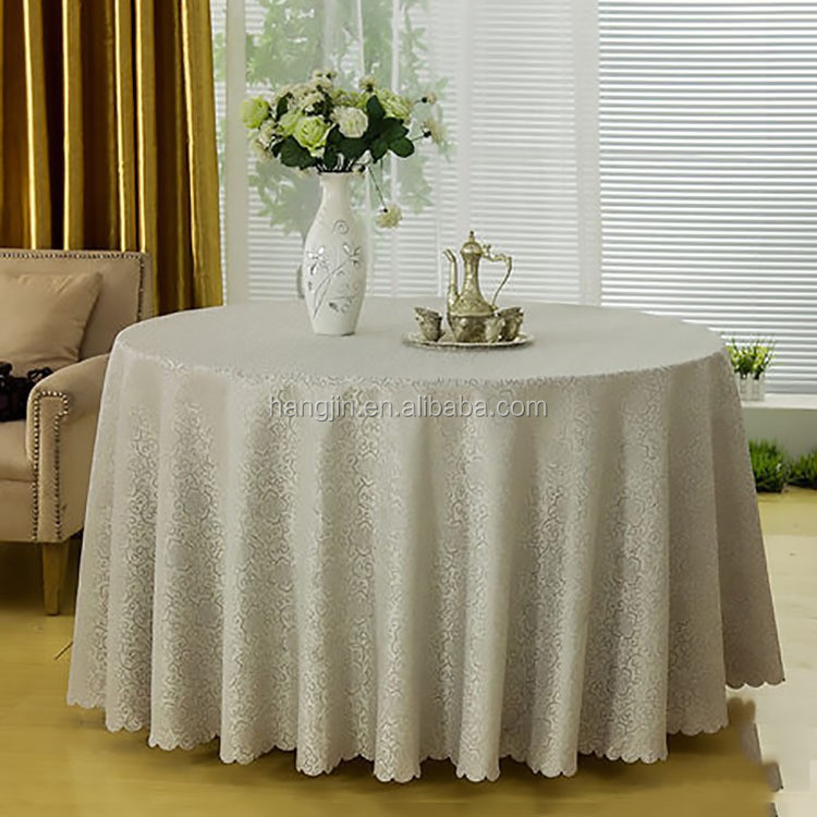 factory wholesale table clean cloth/special fabric painting design on the table cloth/high bar cocktail table cloth for wedding
