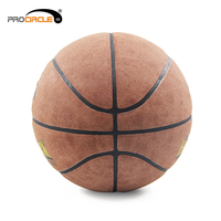 Certificate TUV Printed Colorful Leather Material Basketball