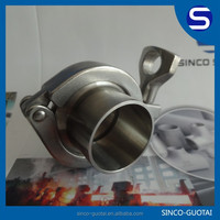 304 stainless steel 4 inch pipe clamp