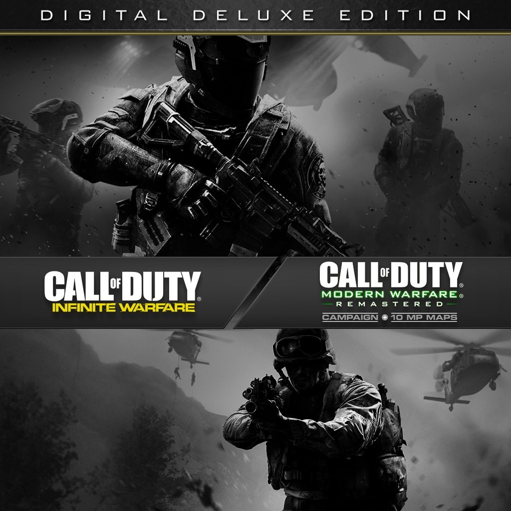 Call Of Duty: Infinite Warfare - Digital Deluxe Edition - PS4 [Digital Code]