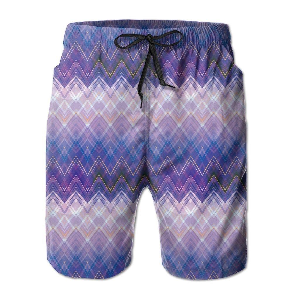 LORVIES Mens Universe Beach Board Shorts Quick Dry Swim Trunk