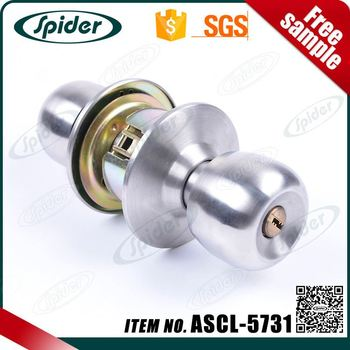 Brand Name Mortise Cylinder Cylindrical Door Knob Lock With