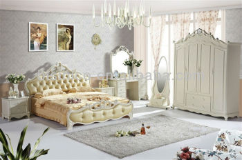 Exquisite Timber Beds Furniture Set,Royal Style Wooden Bedroom Set ...