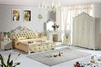 Exquisite Timber Beds Furniture Set,Royal Style Wooden Bedroom Set  ,Contemporary Design Bedroom Furniture