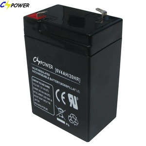 6V 4Ah CSPOWER Sealed Rechargeable Lead Acid Battery
