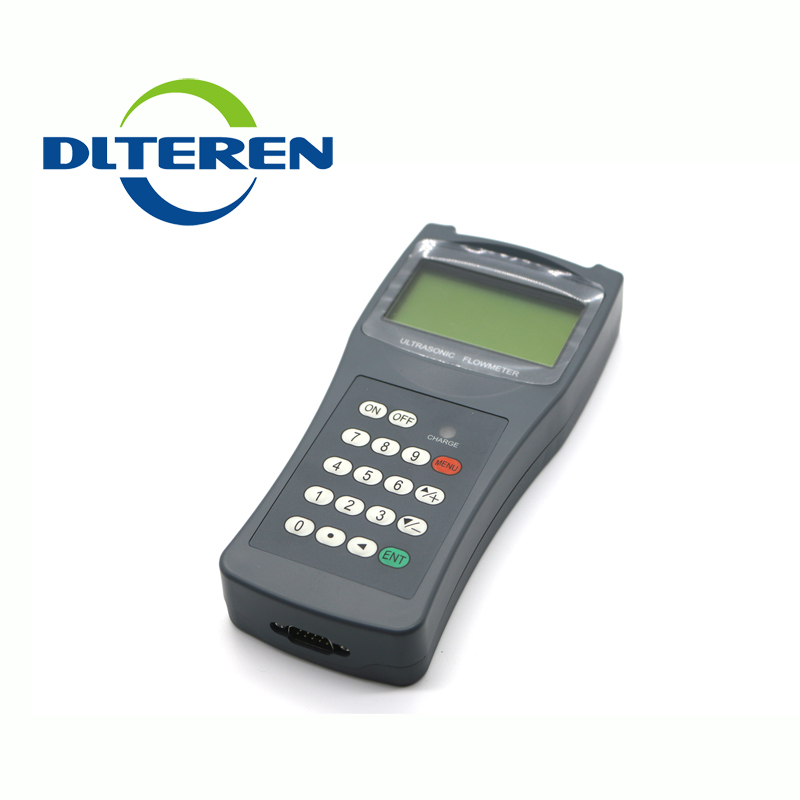 DTI-100H Handheld Ultrasonic Water Flowmeter Price For Sale Ultrasonic Flow Meter