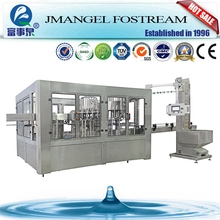 High speed automatic bottle washing filling and sealing plant