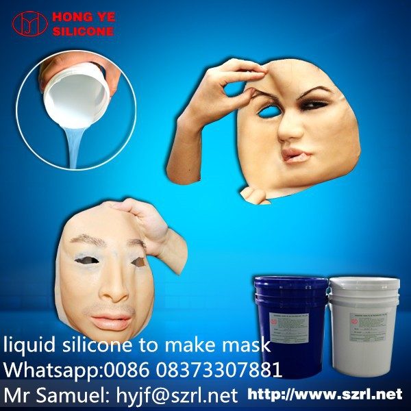 face mask silicon to make real human face masks