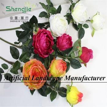Sjyh655 china handmade faux singlebouquet flower wholesale rose sjyh655 china handmade faux singlebouquet flower wholesale rose artificial wedding flower mightylinksfo