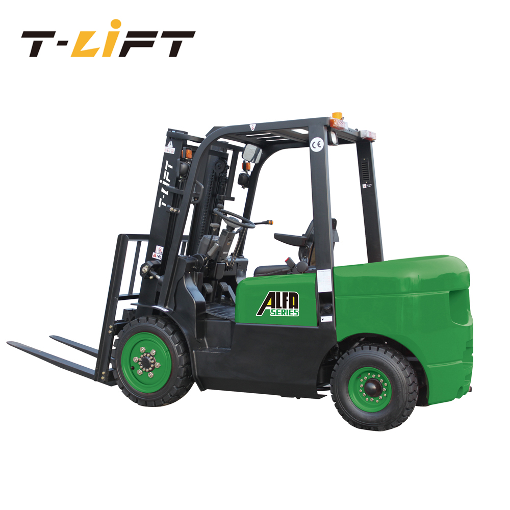 China new forklift truck warehouse equipment price ALFA series diesel forklift 2.5 ton for sale
