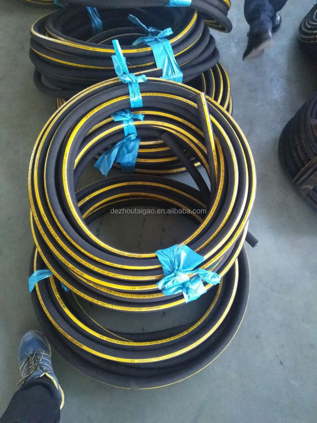 China factory wholesale hydraulic hose and hose assemblies hydraulic hose