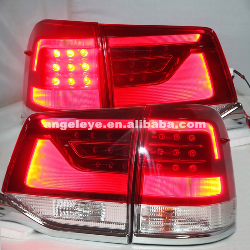 2015-2016 year For Toyota Land Cruiser Rear Lights LED Tail Lamp CF