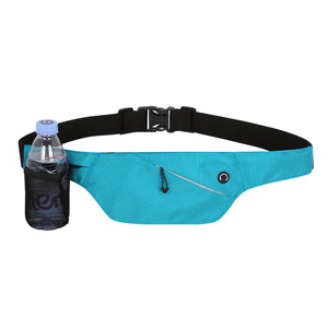 Travel Outdoor Mobile Phone Waist Belt Bags with Single Kettle Multifunction Waterproof Waist Packs Waist Bag