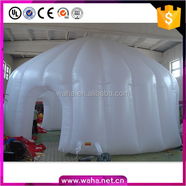 2018 Attractive birthday indoor decoration inflatable dome/igloo tent/dome balloon