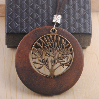 necklace wood pendent goodwood good shop arrival new item hip animal hop online