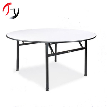 modern foldable event dinner party round dining tables yj pt183