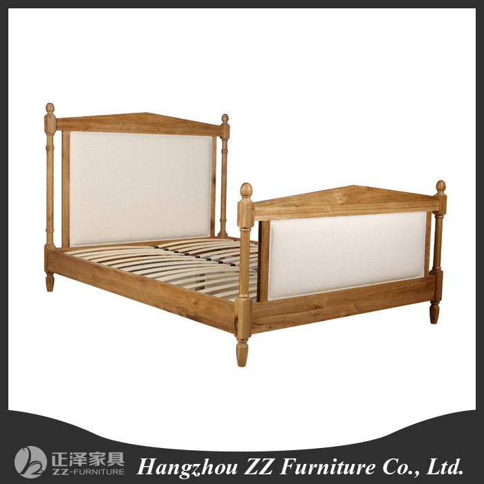 US country style bedroom furniture headboard hotel bed