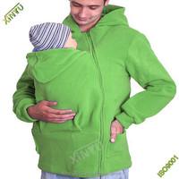 Mom Baby carrier plain sweater;baby wearing hoodie