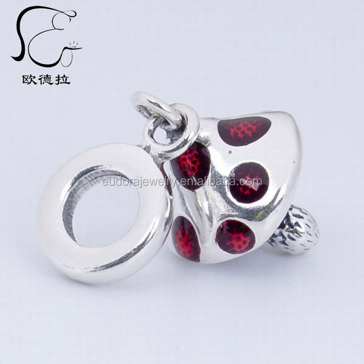 hina china ilver silver screw core acet facet glass bead