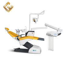 Four-way Foot Control Standard Size Dental Chair With Separate Cooling Water Regulating Valve