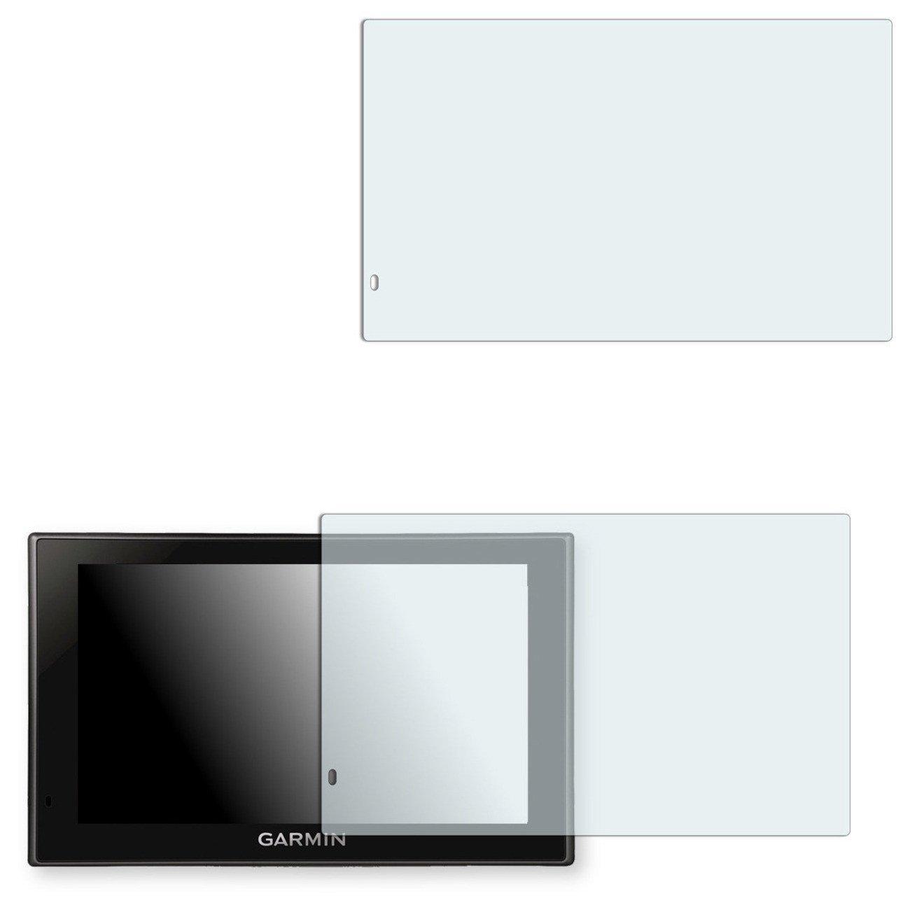 2x Golebo Anti-Glare screen protector for Garmin Camper 660 LMT (Anti-Reflex, Air pocket free application, Easy to remove)