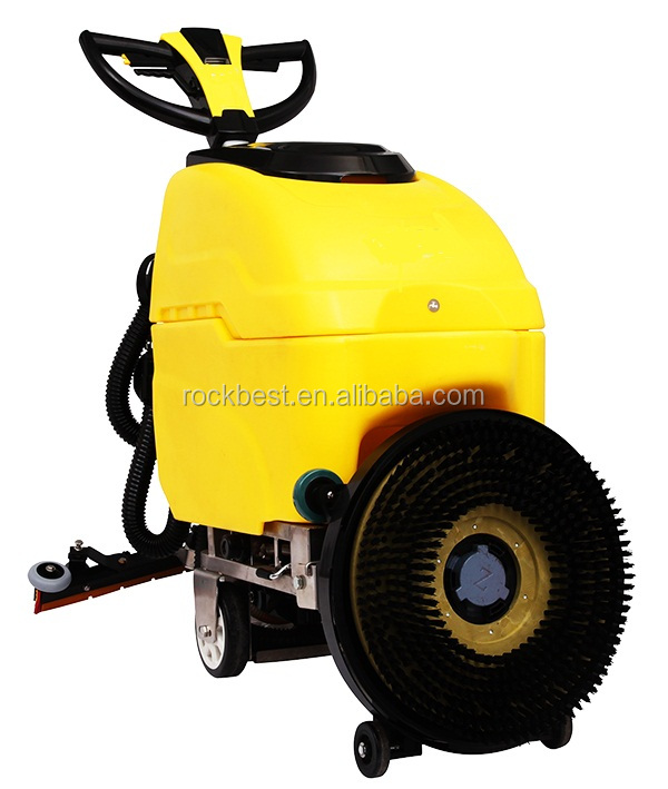 concrete marble floor cleaning scrubber machine