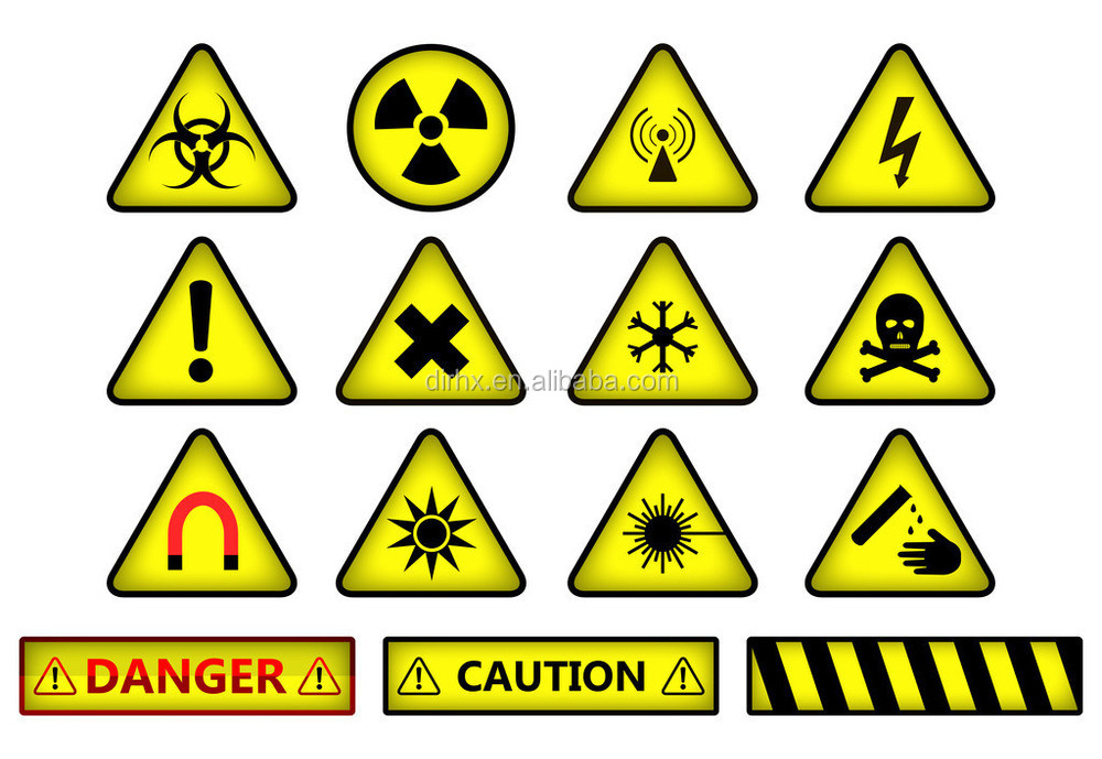 Oxidizer Hazard Label Oxidative Warning Label Buy Hazard