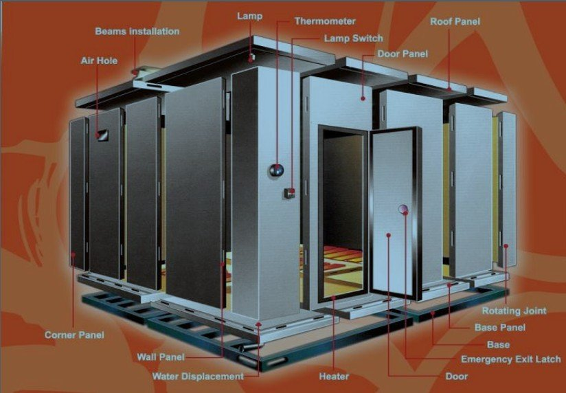 Large Cold Room 25 Degree Walk In Freezer Buy Freezer