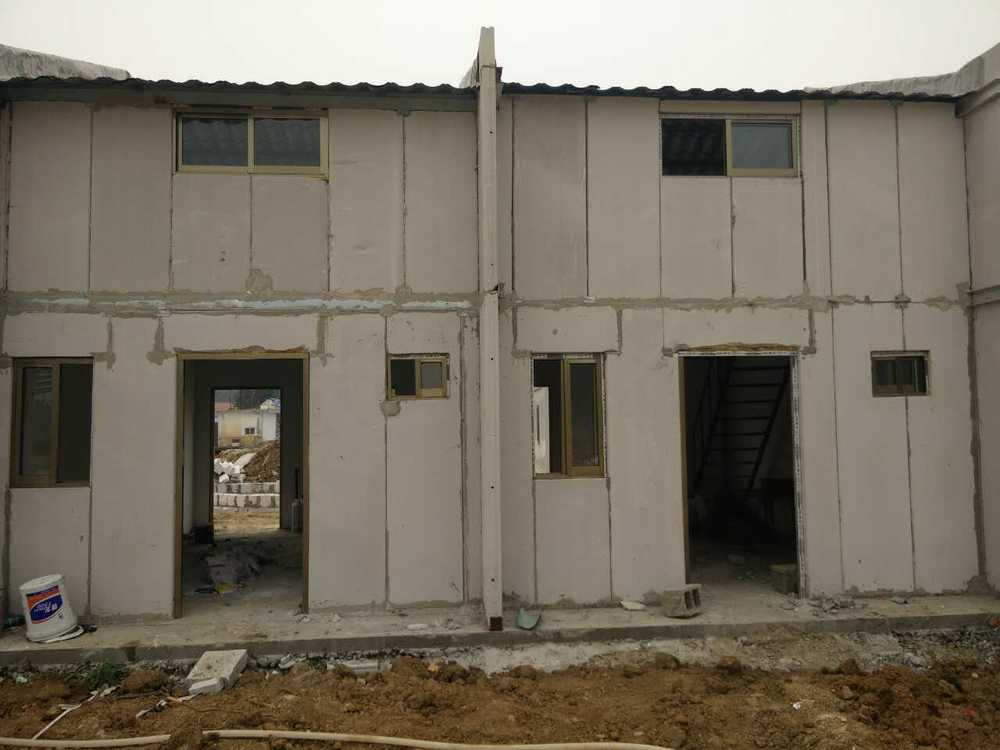 Aac Alc Wall Panel Steel Frame Prefabricated Luxury House