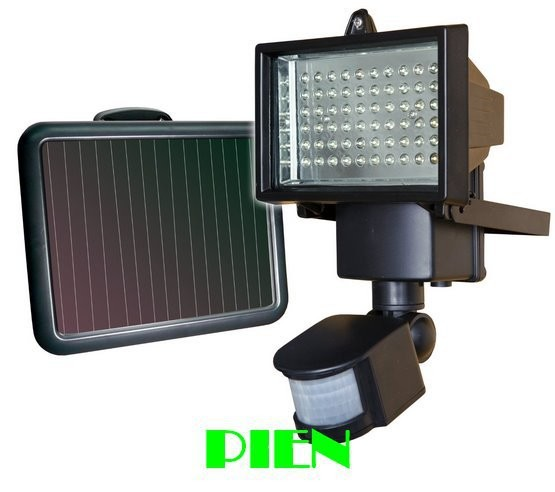 10W Waterproof garden outdoor Motion sensor solar powered led light