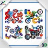 motorcycle child toy promotional PP Sheet 3D jigsaw Puzzle